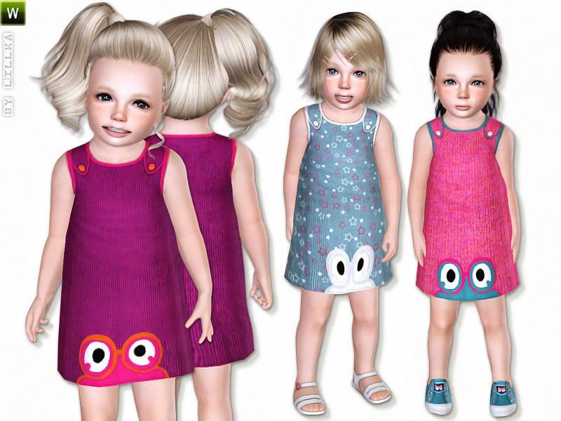 2 Cute Toddler Dresses by Lillka @TSR W-800h-600-2394317