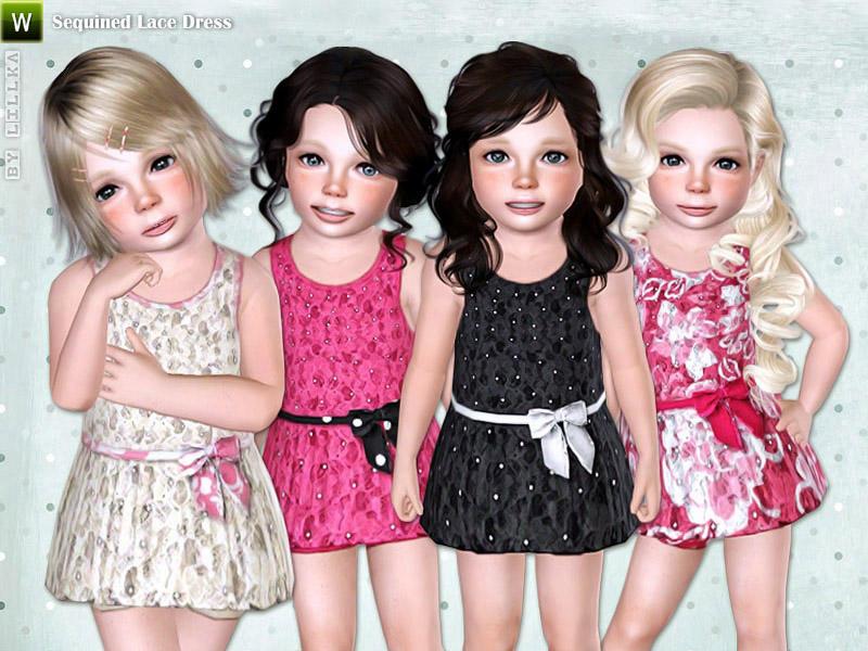 2 Cute Toddler Dresses by Lillka @TSR W-800h-600-2394726