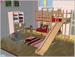 Sims 2 Room Sets Bunk Bed