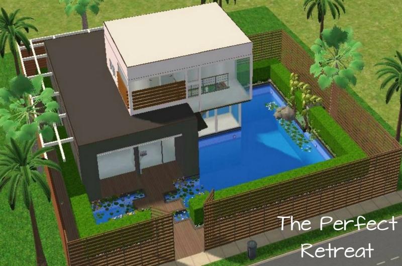 Astounding Maison Moderne Sims 2 Contemporary - Best Image Engine ...