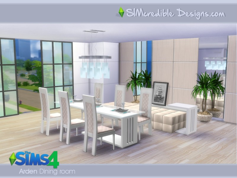 SIMcredibles Arden Dining Room