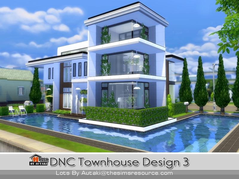 autakis DNC Townhouse Design 3