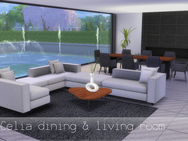Celia Living Room Spacesims