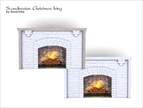 Sims 4 Fireplaces - 'living'