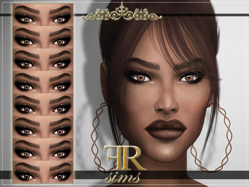 FashionRoyaltySims' FRS Eyes N04