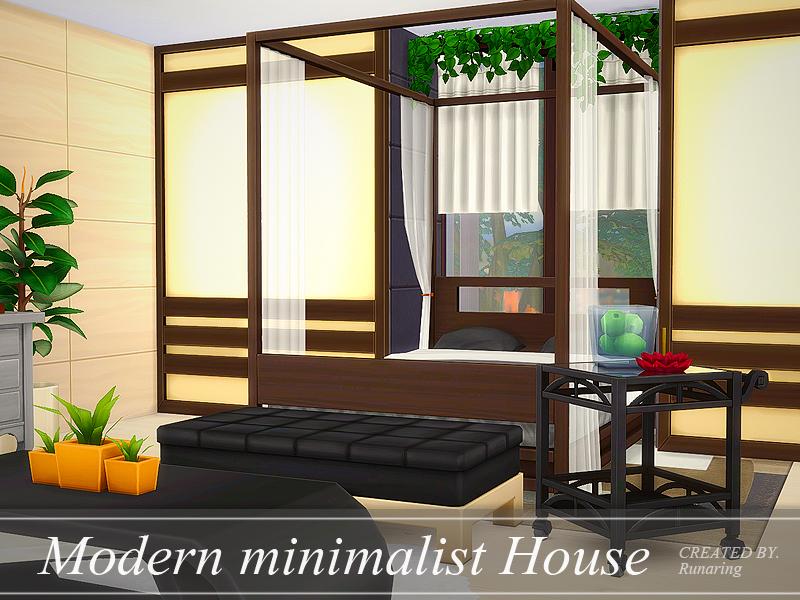 Modern minimalist house no cc los sims 4 descarga for Minimalist no house