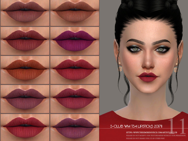 cdc54b4347a S-Club WM ts4 Lipstick 201711