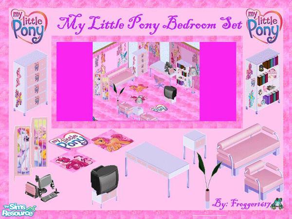 Frogger1617's My Little Pony Bedroom Set
