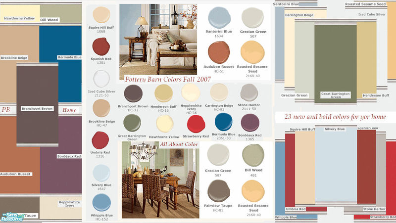 Kristiemi 39 S Pottery Barn Fall Paint Colors