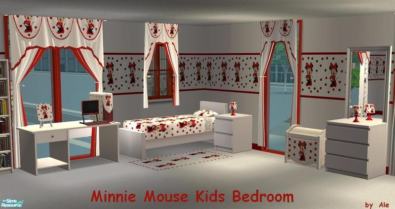 Ale0508 s minnie mouse kids bedroom