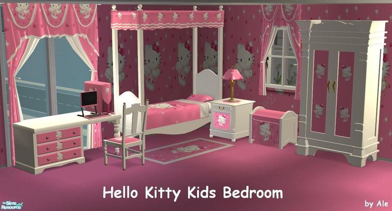 ale0508 39 s hello kitty kids bedroom