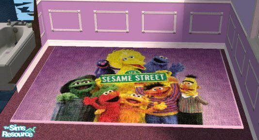 Sesame Street Rug